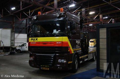 DAF XF105, foto van Alex Miedema