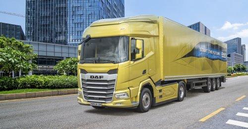 DAF XF 2021, foto van Truckfan Nieuwsposter