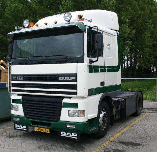 DAF 95XF, foto van jaeger