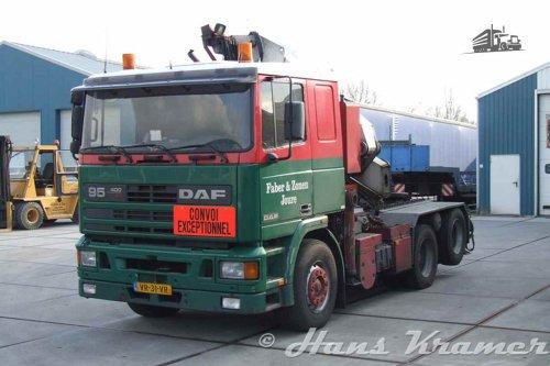 DAF 95, foto van Hans Kramer