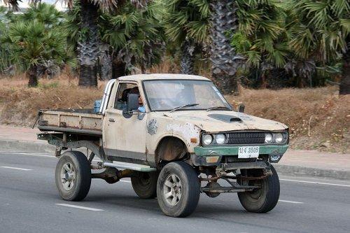 Datsun 620, foto van Alex Miedema