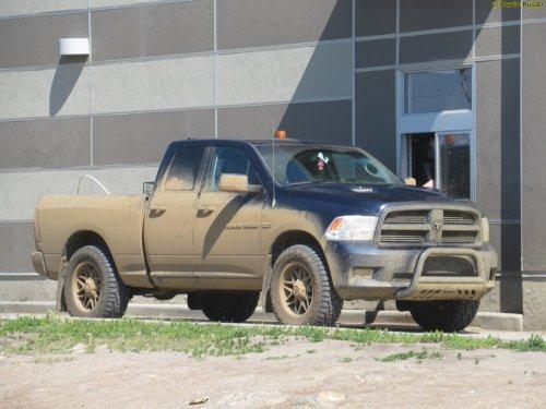 Dodge Ram van oldtimergek