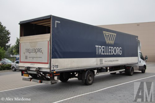 DRAF oplegger (vrachtwagen), foto van Alex Miedema