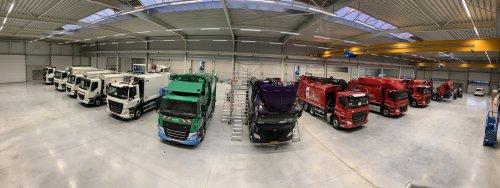 E-Trucks elektrotruck, foto van Truckfan Nieuwsposter