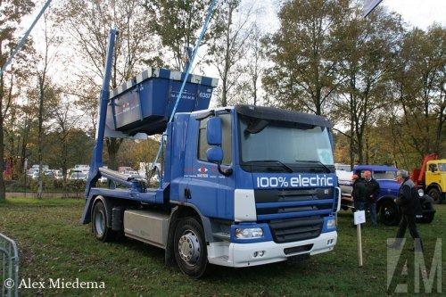 E-Trucks elektrotruck, foto van Alex Miedema