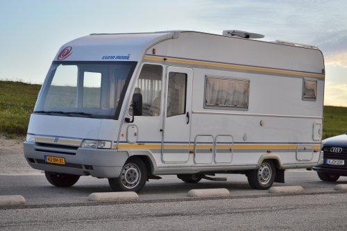 Eura Mobil camper, foto van Lucas Ensing