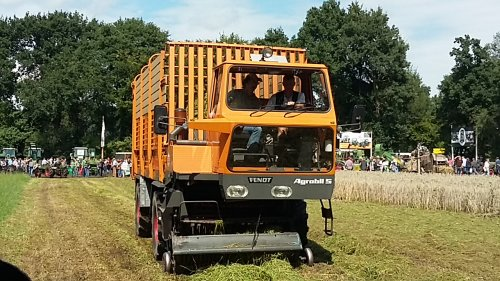 Fendt Agrobil S, foto van boegie