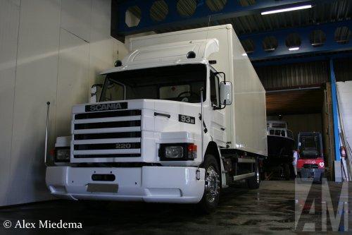 Scania T93 (vrachtwagen), foto van Alex Miedema