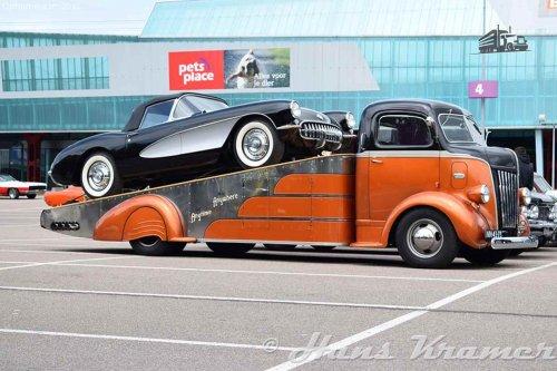 Ford V8 COE, foto van Hans Kramer