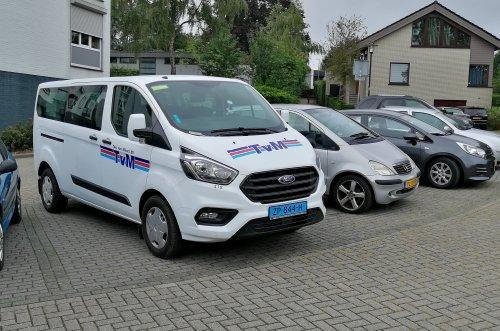 Ford Transit Custom, foto van Lucas Ensing
