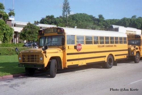 Ford schoolbus, foto van JaKo