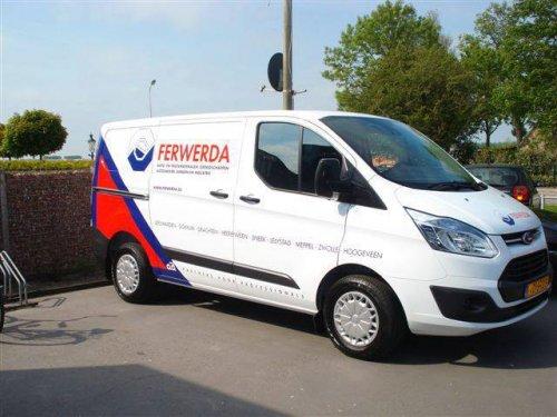Ford Transit Custom, foto van vonkje