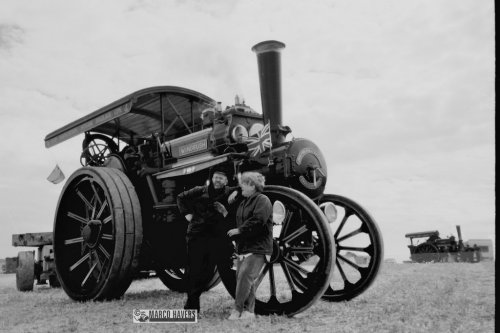 Fowler stoomtrekker, foto van marco-havers