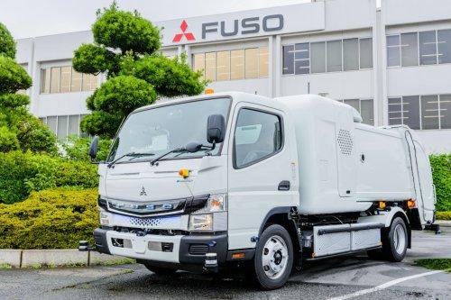 Fuso eCanter, foto van Truckfan Nieuwsposter