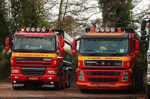 Onbekend meerdere (diverse merken) (vrachtwagen), foto van Bram van der Leij