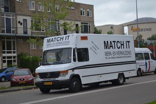 Mercedes-Benz Vario (vrachtwagen) van truckspotterhgk