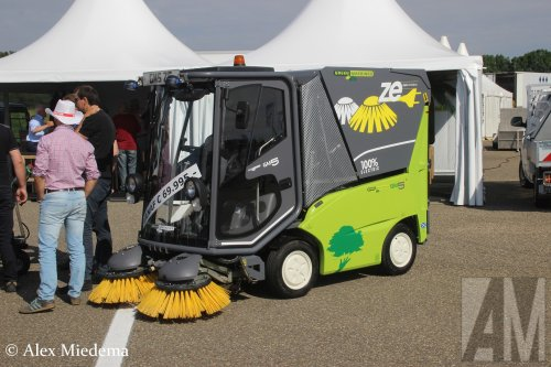 Greenmachines GM5 (veegmachine), foto van Alex Miedema