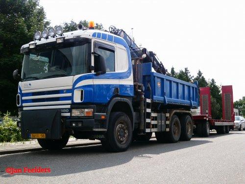 Scania 114 (vrachtwagen), foto van Jan F