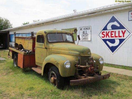 International Truck (vrachtwagen), foto van oldtimergek