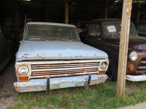 Ford pick up (bestelwagen), foto van oldtimergek