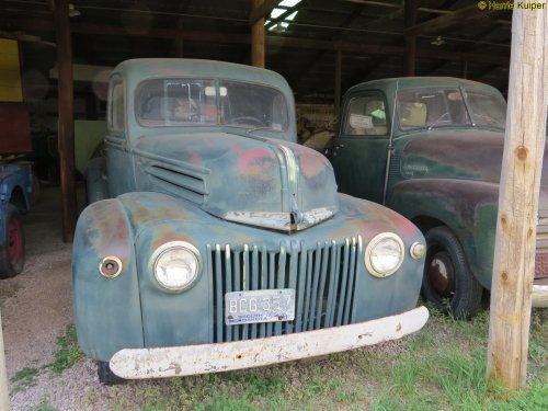 Ford pick up (bestelwagen) van oldtimergek
