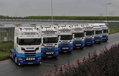 Scania meerdere (vrachtwagen) van Lasse Helderman Photography
