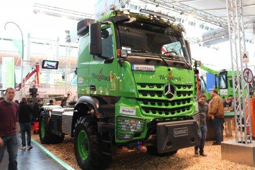 Heizotruck V1 (vrachtwagen), foto van Claas Holland