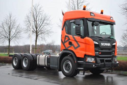 Scania G450 XT (vrachtwagen), foto van coen-ensing