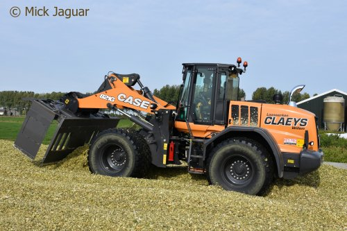 Case 821 G (shovel), foto van Mick Jaguar