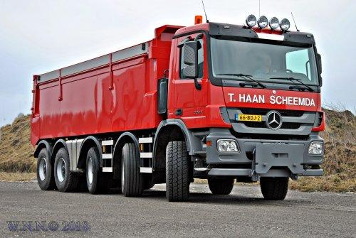 Mercedes-Benz Actros MP3 (vrachtwagen), foto van bernard-dijkhuizen