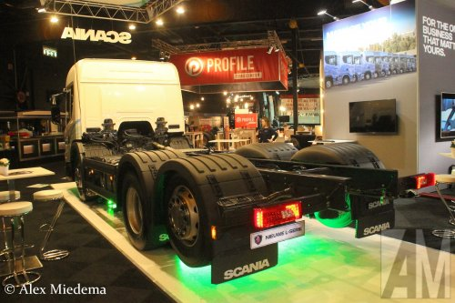 Scania L320 (vrachtwagen), foto van Alex Miedema