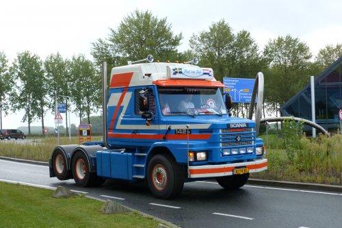 Scania T142 (vrachtwagen), foto van LinkspootPaul