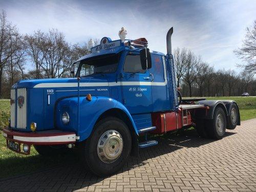 Scania L110 (vrachtwagen), foto van o.h. slippens