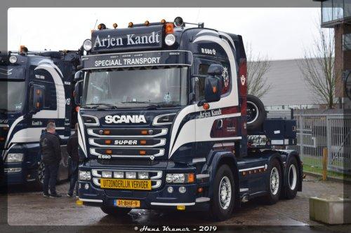 Scania R580 (vrachtwagen), foto van Hans Kramer
