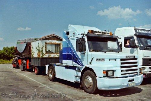 Scania T142 (vrachtwagen), foto van bernard-dijkhuizen