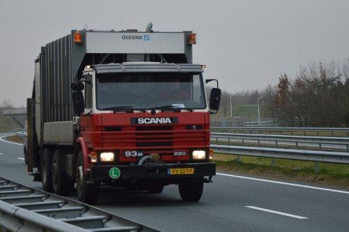 Scania 93 (vrachtwagen), foto van NSTF Truck Fotografie