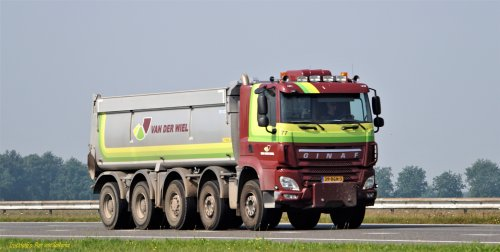 GINAF X6 5350-CTSE (vrachtwagen), foto van pierius-van-solkema