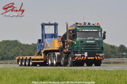 Scania 164 (vrachtwagen), foto van Wim van den Brink