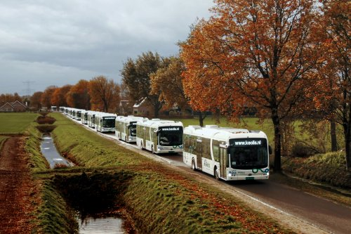BYD eBus (bus), foto van Truckfan Nieuwsposter