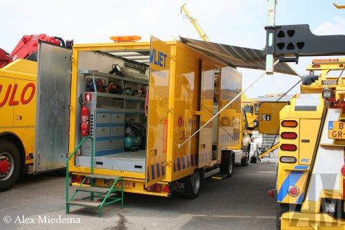 Bunk oplegger (vrachtwagen), foto van Alex Miedema