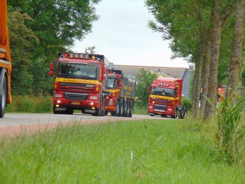 GINAF Vrachtwagen, foto van Heine Kootstra