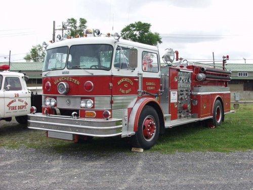 Hahn brandweerwagen, foto van Alex Miedema