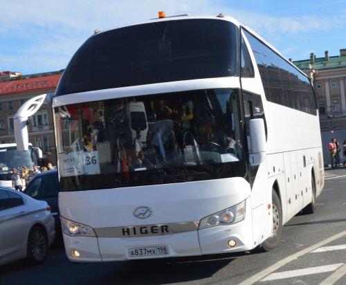 Higer bus, foto van buttonfreak