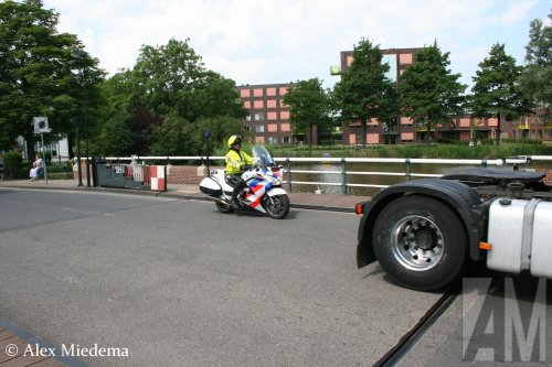 Honda motorfiets, foto van Alex Miedema