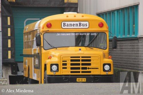 International schoolbus, foto van Alex Miedema
