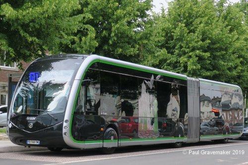 Irizar bus, foto van Paul Gravemaker