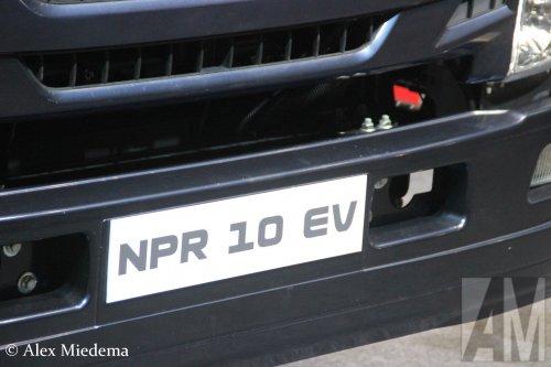 Anadolu Isuzu NPR 10 EV (vrachtwagen), foto van Alex Miedema