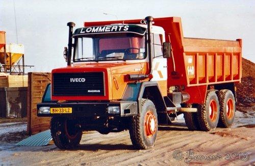 Iveco Vrachtwagen, foto van bernard-dijkhuizen