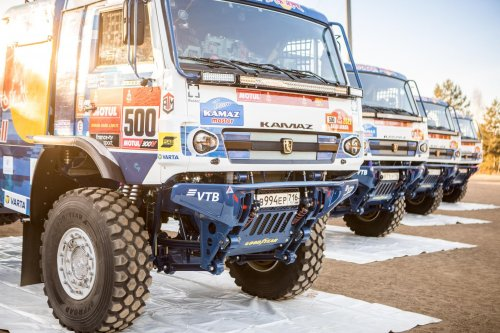 Kamaz 4326, foto van Truckfan Nieuwsposter