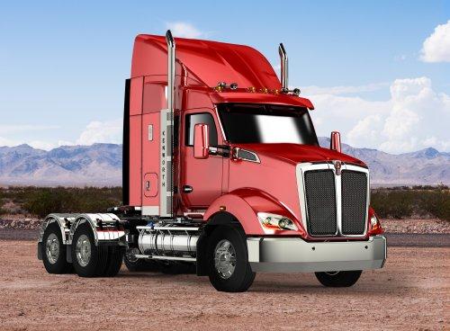Kenworth T610 (vrachtwagen), foto van Alex Miedema
